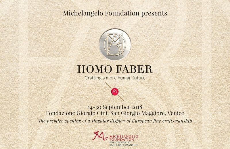 homo faber homo faber Presenting Homo Faber, a Unique Craftsmanship Event in Venice Presenting Homo Faber a Unique Craftsmanship Event in Venice 3