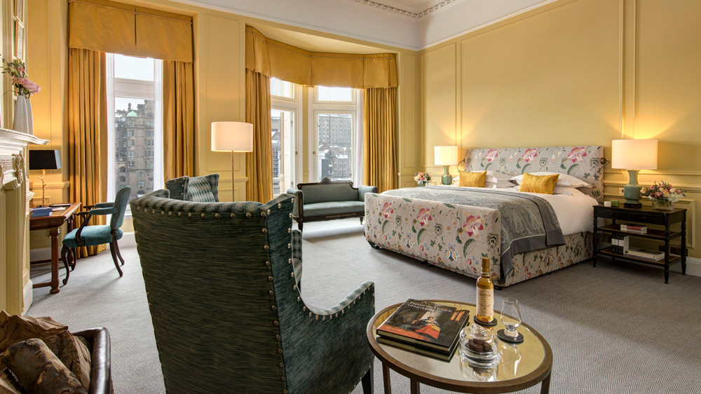 suites Top 6 Most Luxury Suites in Europe to Explore This Summer balmoral scone crombie master bedroom