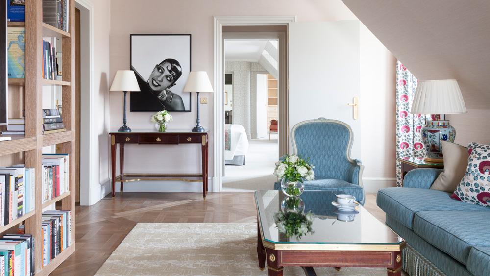 suites suites Top 6 Most Luxury Suites in Europe to Explore This Summer le bristol paris suite 760 josephine baker 5 8971