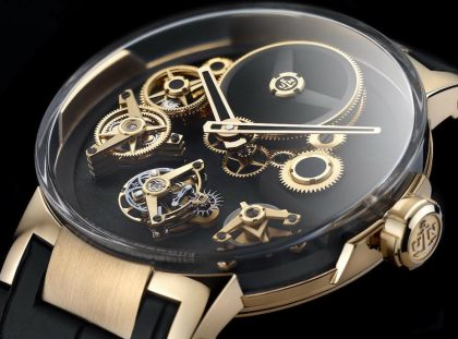 The Ulysse Nardin Executive Tourbillon Free Wheel Watch