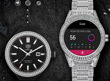 The World's Most Expensive Smartwatch is a $180,000 Tag Heuer smartwatch The World's Most Expensive Smartwatch is a $180,000 Tag Heuer tagheuer connected modular45 fulldiamondset 1170x613 420x311