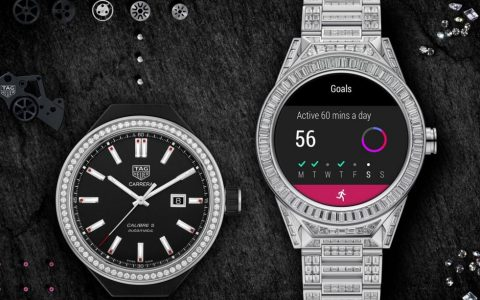 smartwatch The World's Most Expensive Smartwatch is a $180,000 Tag Heuer tagheuer connected modular45 fulldiamondset 1170x613 480x300