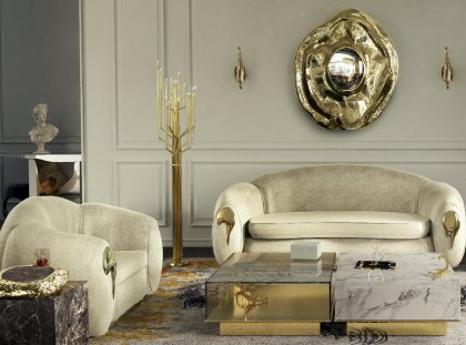 Exclusive Furniture Design For A Luxury Living Room