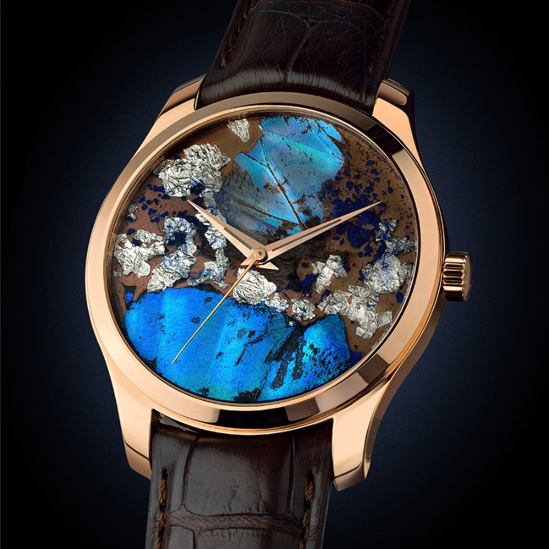 unique watches Discover These Unique Watches Inspired by Nature Son of Earth Precious Butterfly1