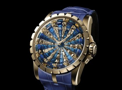 The Roger Dubuis Watch with Exclusive Design Inspired by a King