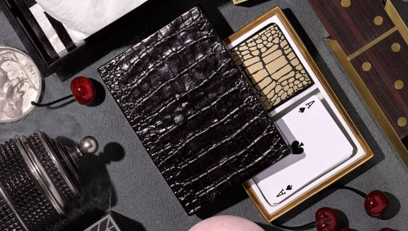 Luxury Design L'Objet Crocodile Box | Luxury Design Playing Cards L   Objet Crocodile Box Luxury Design Playing Cards 1