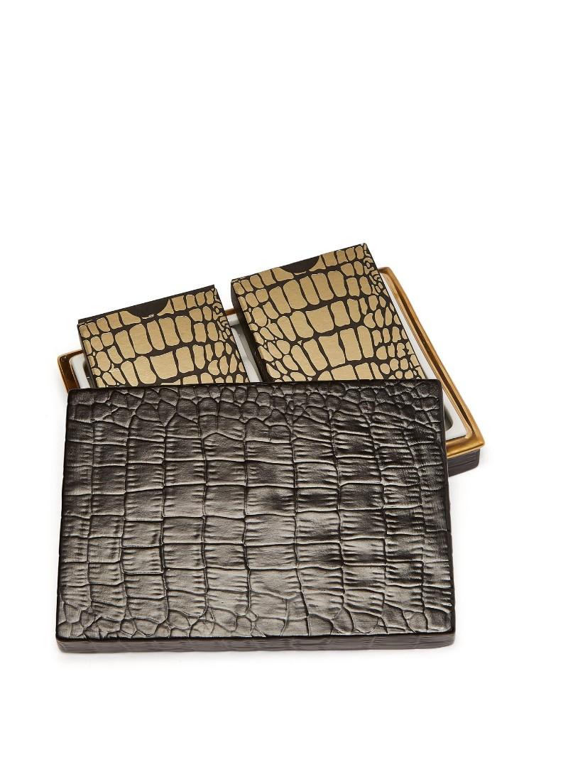 Luxury Design L'Objet Crocodile Box | Luxury Design Playing Cards L   Objet Crocodile Box Luxury Design Playing Cards 3