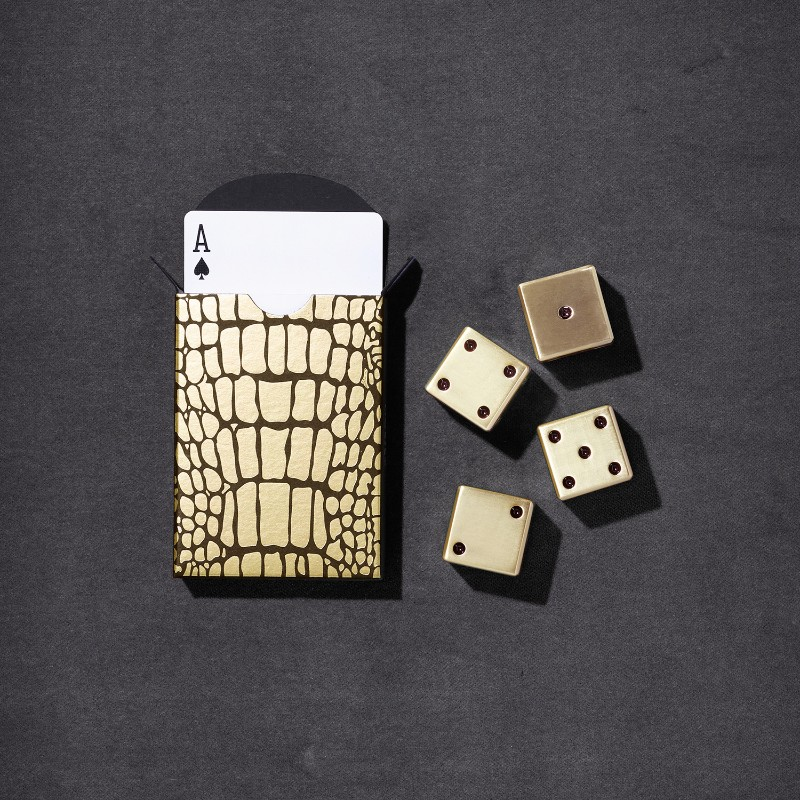 L'Objet Crocodile Box | Luxury Design Playing Cards Luxury Design L'Objet Crocodile Box | Luxury Design Playing Cards L   Objet Crocodile Box Luxury Design Playing Cards 4
