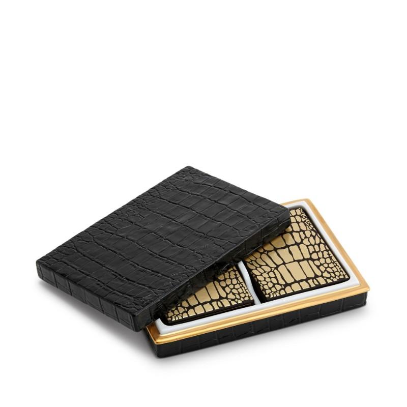 L'Objet Crocodile Box | Luxury Design Playing Cards Luxury Design L'Objet Crocodile Box | Luxury Design Playing Cards L   Objet Crocodile Box Luxury Design Playing Cards 5