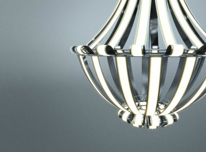 Luxury Chandelier LG Oled by Alexandre Boucher