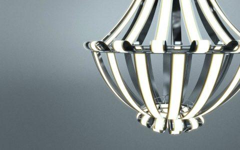 luxury chandelier Luxury Chandelier LG Oled by Alexandre Boucher Luxury Chandelier LG Oled by Alexandre Boucher 3       480x300