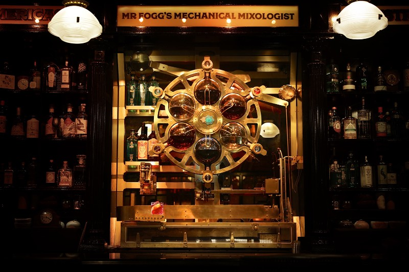 The Victorian Inspired Cocktail Machine by Rogue Projects