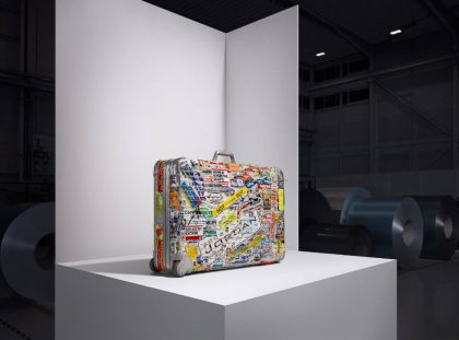Rimowa Re-Introduces Their Iconic Aluminum Case with Karl Lagerfeld