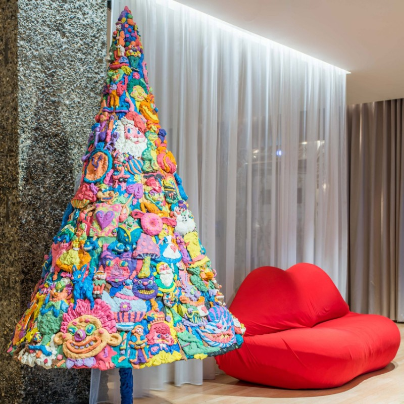 unique design The Most Unusual Christmas Trees With A Unique Design The Most Unusual Christmas Trees With A Unique Design 9