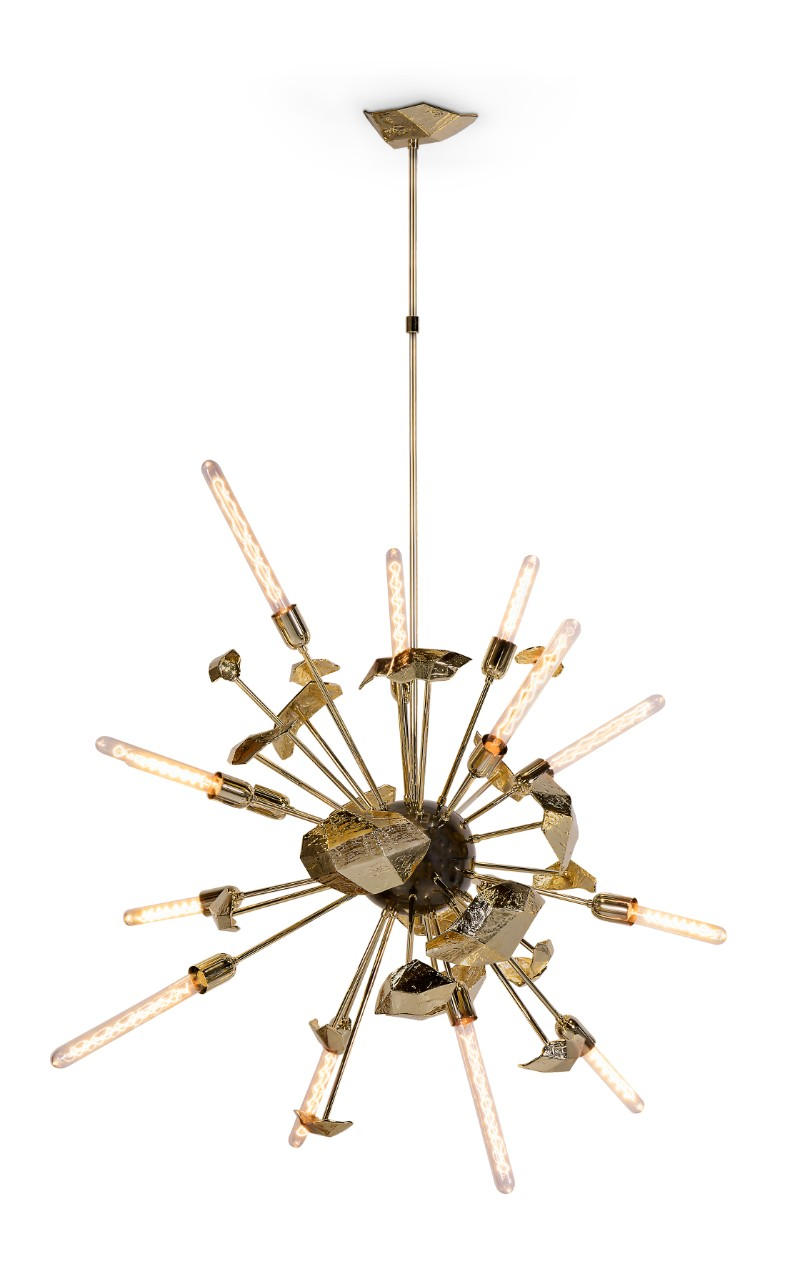 IMM Discover the Most Stunning Furniture Pieces by Boca do Lobo at IMM Supernova Chandelier by Boca do Lobo 1