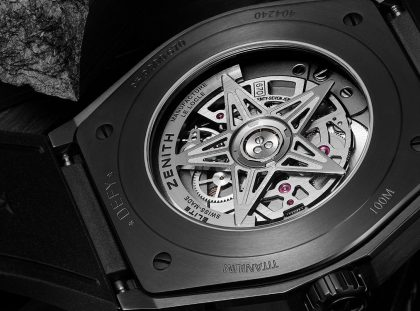 The New Exclusive Design Watch by Zenith – A Black Ceramic Timepiece