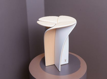 Blossom Stool – A Piece Designed by Louis Vuitton and Tokujin Yoshioka