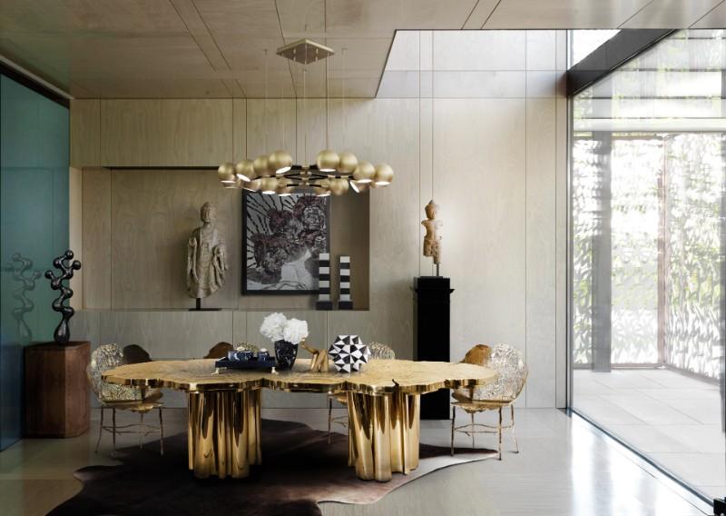 Winter Design Trends – Exclusive Pieces by Boca do Lobo boca do lobo Winter Design Trends – Exclusive Pieces by Boca do Lobo Fortuna Dining Table by Boca do Lobo 2