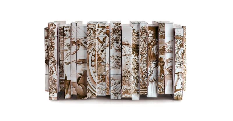 boca do lobo Winter Design Trends – Exclusive Pieces by Boca do Lobo Heritage Sideboard by Boca do Lobo 1