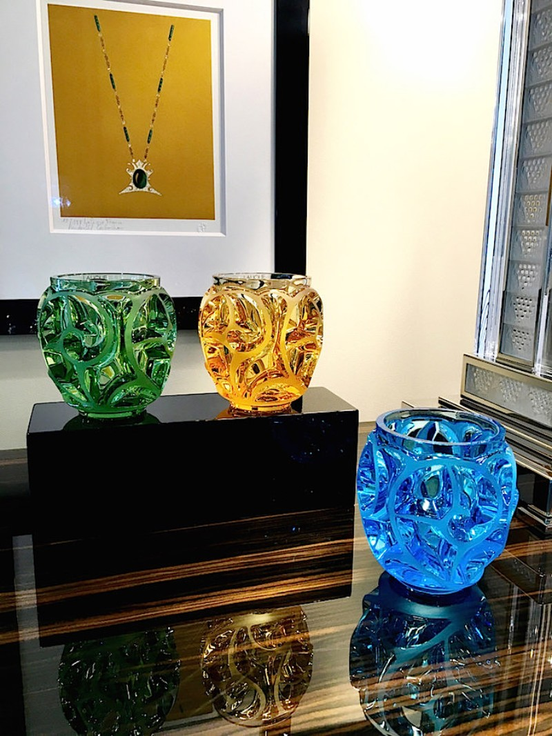 Limited Edition - Tourbillons Vases by René Lalique rené lalique Limited Edition – Tourbillons Vases by René Lalique Limited Edition Tourbillons Vase by Ren   Lalique 5