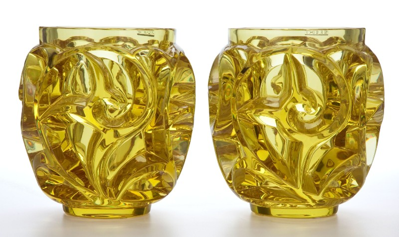 rené lalique Limited Edition – Tourbillons Vases by René Lalique Limited Edition Tourbillons Vase by Ren   Lalique 8