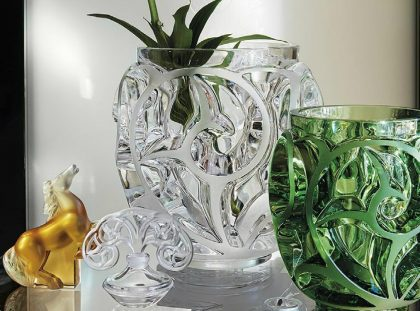 Limited Edition - Tourbillons Vases by René Lalique