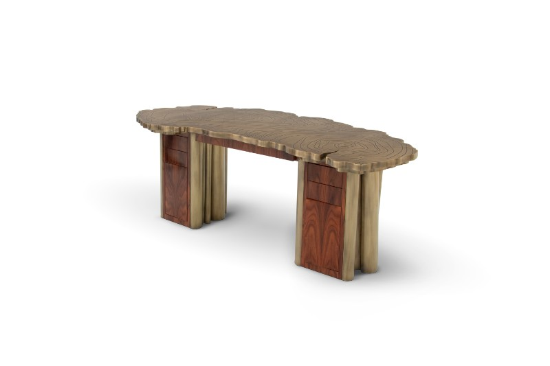 The Essence of Empowerment Through Fortuna Unique Tables Unique Tables The Essence of Empowerment Through Fortuna Unique Tables Fortuna Desk by Boca do Lobo 1