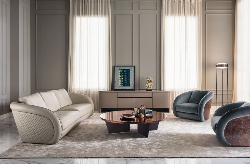 The Best of Design: Discover 10 Contemporary Italian Furniture Brands italian furniture brands The Best of Design: Discover 10 Contemporary Italian Furniture Brands bentley home beaumont sofa and armchairs luxury living group