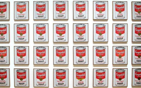 andy warhol Throwback Thursday – A look at Andy Warhol Most Iconic Work campbells soup cans FT 480x300