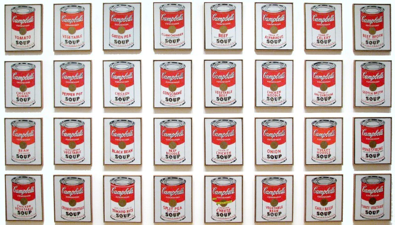 campbells_soup_cans Throwback Thursday - A look at Andy Warhol Most Iconic Work andy warhol Throwback Thursday – A look at Andy Warhol Most Iconic Work campbells soup cans Throwback Thursday A look at Andy Warhol Most Iconic Work