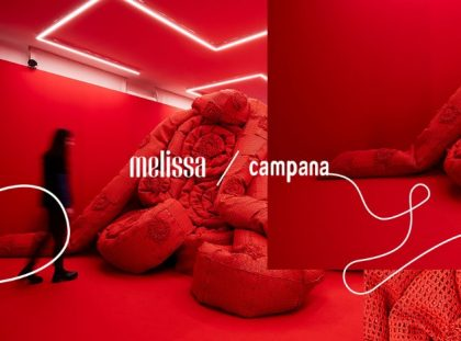 Milan Design Week 2019 - Crochet Exhibition by Melissa + Campana Brothers FT milan design week Milan Design Week 2019 – Crochet Exhibition by Melissa + Campana Brothers Milan Design Week 2019 Crochet Exhibition by Melissa Campana Brothers FT 420x311