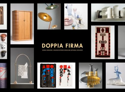 Milan Design Week 2019 - Masterpieces Of Craftsmanship In Doppia Firma FT milan design week Milan Design Week 2019 – Masterpieces Of Craftsmanship In Doppia Firma Milan Design Week 2019 Masterpieces Of Craftsmanship In Doppia Firma FT 420x311
