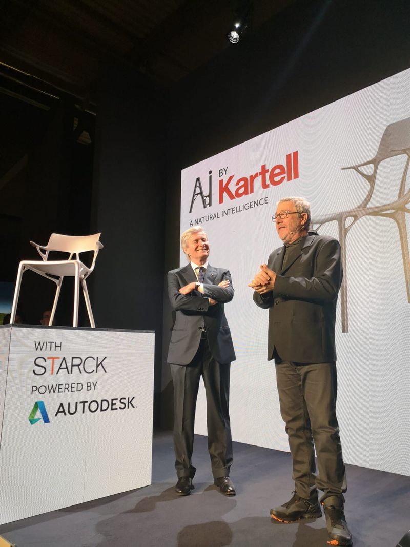 Salone Del Mobile 2019 - Kartell Creates Artificial Intelligence Chair (1) salone del mobile Salone Del Mobile 2019 – Kartell Creates Artificial Intelligence Chair Salone Del Mobile 2019 Kartell Creates Artificial Intelligence Chair 1