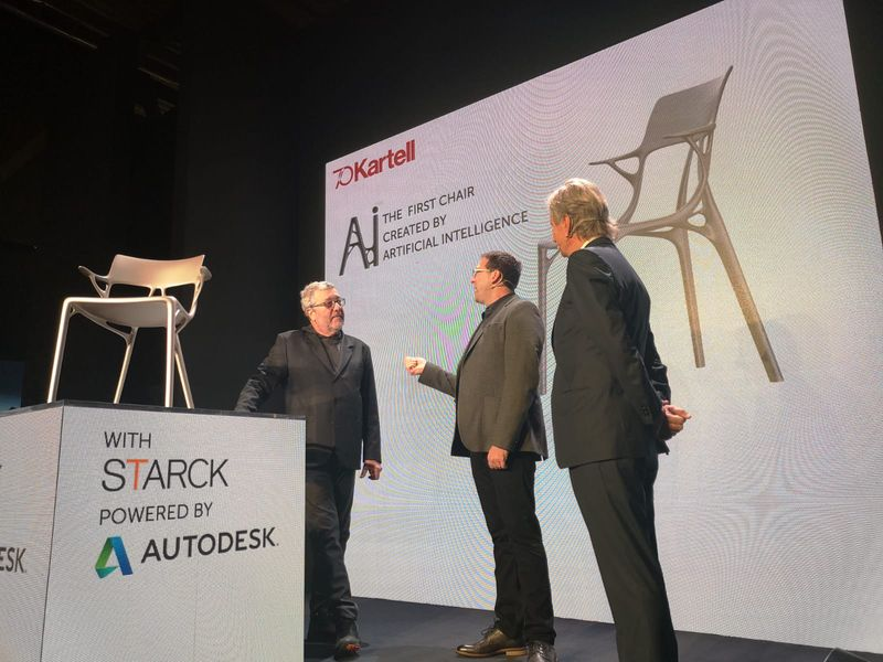 Salone Del Mobile 2019 - Kartell Creates Artificial Intelligence Chair (2) salone del mobile Salone Del Mobile 2019 – Kartell Creates Artificial Intelligence Chair Salone Del Mobile 2019 Kartell Creates Artificial Intelligence Chair 2