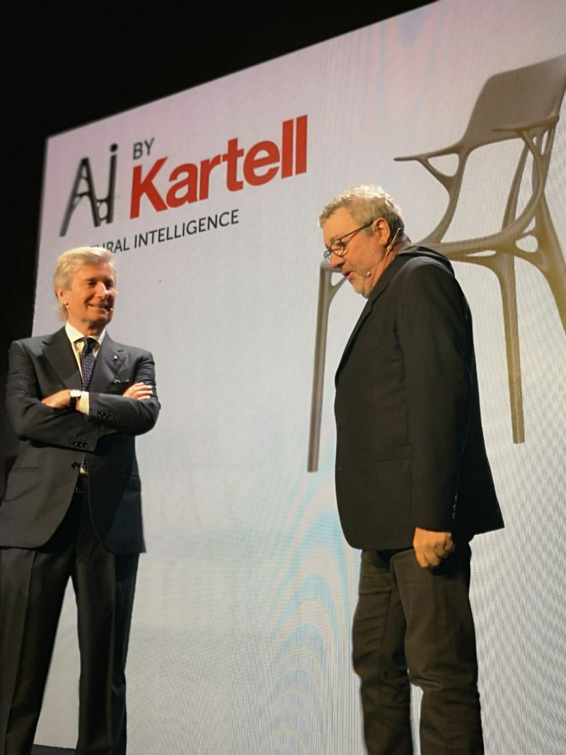 Salone Del Mobile 2019 - Kartell Creates Artificial Intelligence Chair (3) salone del mobile Salone Del Mobile 2019 – Kartell Creates Artificial Intelligence Chair Salone Del Mobile 2019 Kartell Creates Artificial Intelligence Chair 3