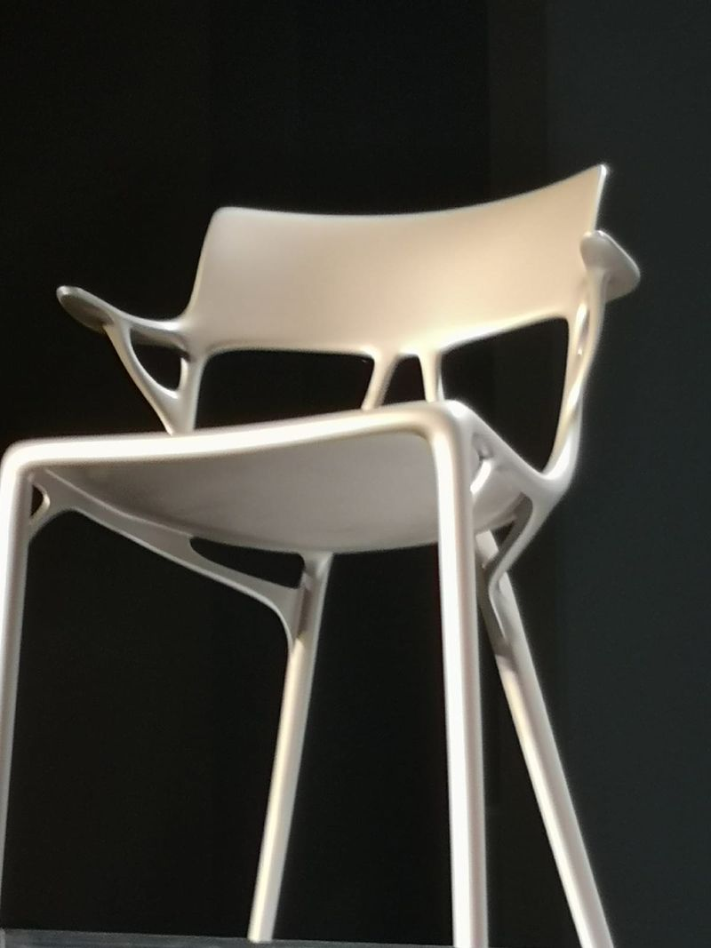 Salone Del Mobile 2019 - Kartell Creates Artificial Intelligence Chair (4) salone del mobile Salone Del Mobile 2019 – Kartell Creates Artificial Intelligence Chair Salone Del Mobile 2019 Kartell Creates Artificial Intelligence Chair 4