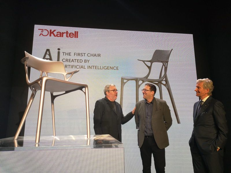 salone del mobile Salone Del Mobile 2019 – Kartell Creates Artificial Intelligence Chair Salone Del Mobile 2019 Kartell Creates Artificial Intelligence Chair 5