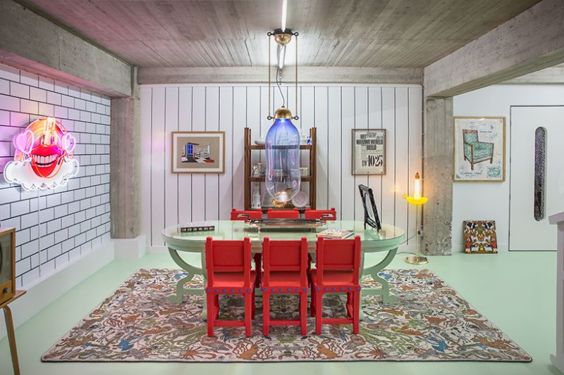 Studio Job's Wild and Wonderful Apartment and Antwerp Headquarters (4)