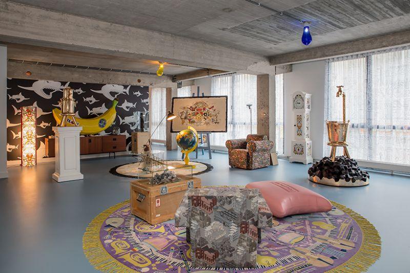 Studio Job's Wild and Wonderful Apartment and Antwerp Headquarters (5)