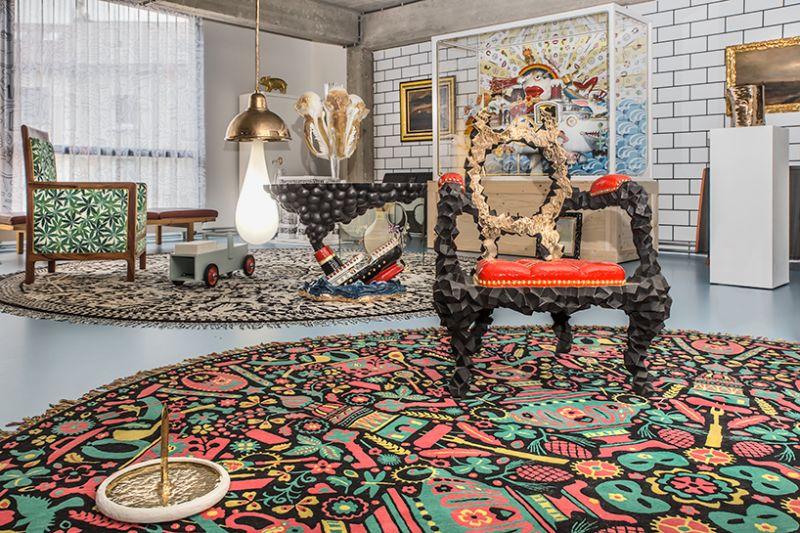 Studio Job's Wild and Wonderful Apartment and Antwerp Headquarters (6)
