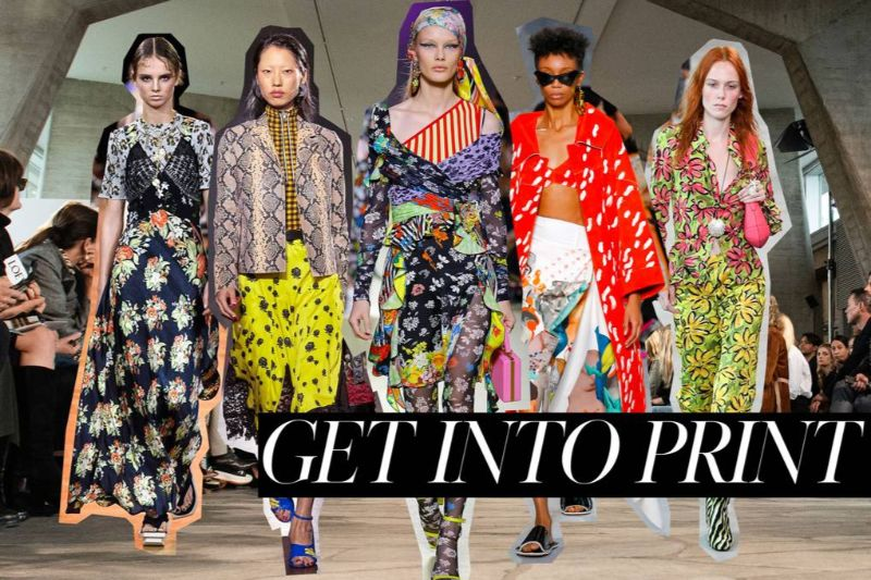 The Biggest Fashion Trends For The Summer fashion trend The Biggest Fashion Trends For The Summer print