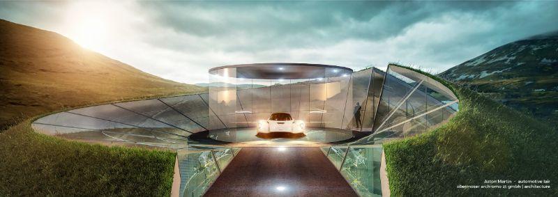 Aston Martin Creates Your Home Design Around Your Car (7)