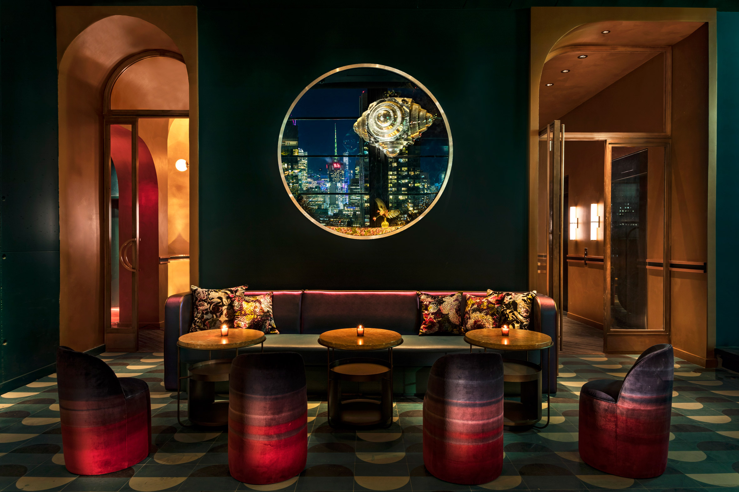 yabu pushelberg Yabu Pushelberg and Rockwell Group Bring Nature Inside NYC Hotel Yabu Pushelberg and Rockwell Group Bring Nature Inside NYC Hotel 5