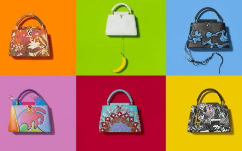 louis vuitton Louis Vuitton's ArtyCapucines Gets Reimagined By Contemporary Artists Louis Vuittons ArtyCapucines Gets Reimagined By Contemporary Artists ft 480x300